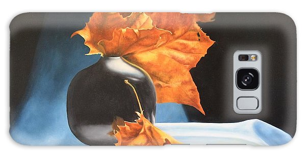 Memories Of Fall - Oil Painting Galaxy Case