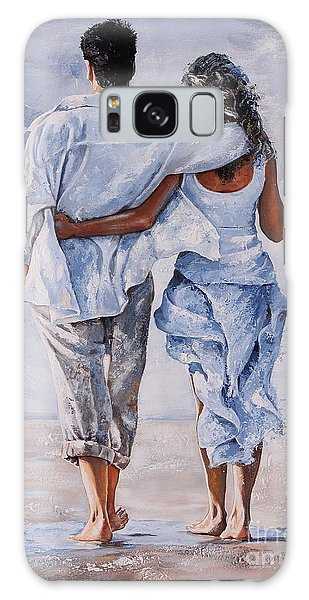 Memories Of Love Galaxy Case by Emerico Imre Toth
