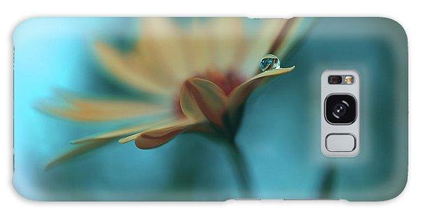 Flora Galaxy Case - Memories Of Sea... by Juliana Nan