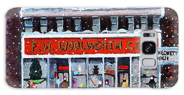 Memories Of Winter At Woolworth's Galaxy Case