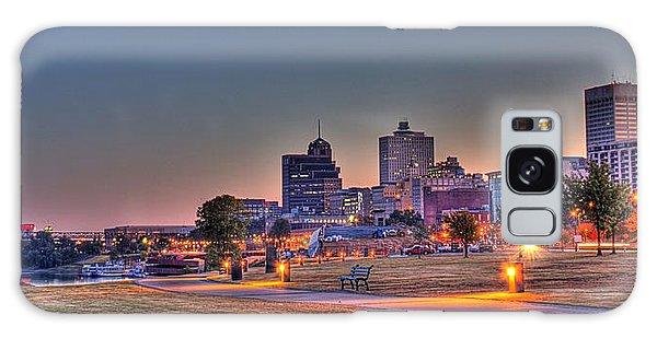 Cityscape - Skyline - Memphis At Dawn Galaxy Case