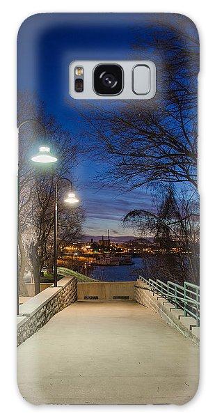 Memphis Riverfront Galaxy Case by Mark Bowmer