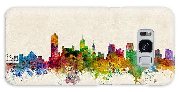 Watercolour Galaxy Case - Memphis Tennessee Skyline by Michael Tompsett