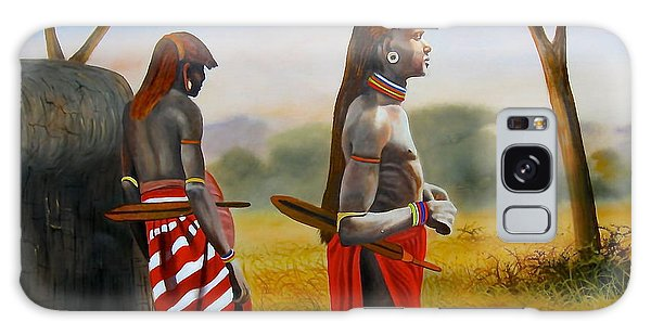 Men Of The Maasai Galaxy Case