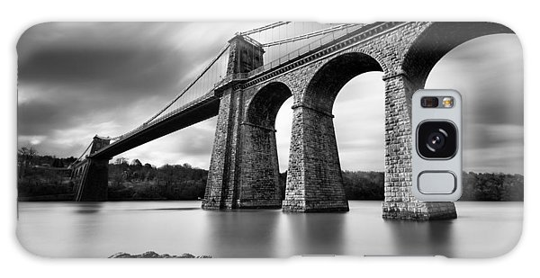 Old Galaxy Case - Menai Suspension Bridge by Dave Bowman