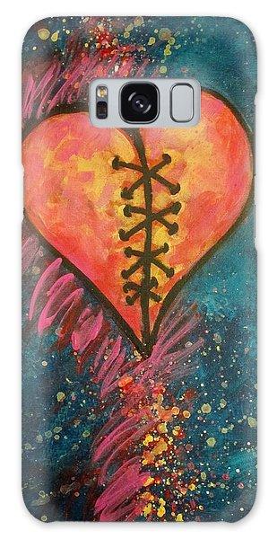 Mended Broken Heart Galaxy Case
