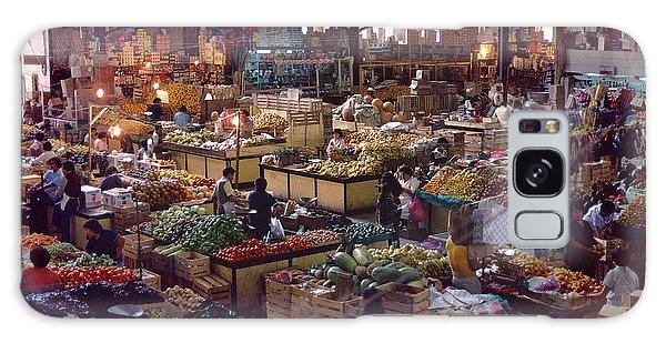 Mercado Photograph - Mexican Market Galaxy Case