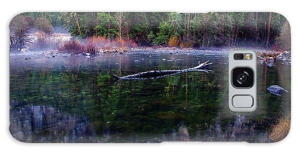 Merced River Riverscape Galaxy Case by Scott McGuire