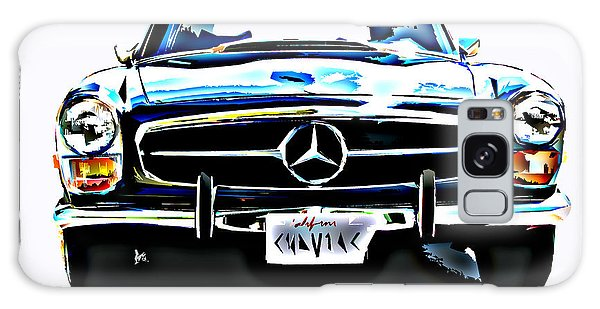 Mercedes Benz 280sl Roadster Galaxy Case by Samuel Sheats