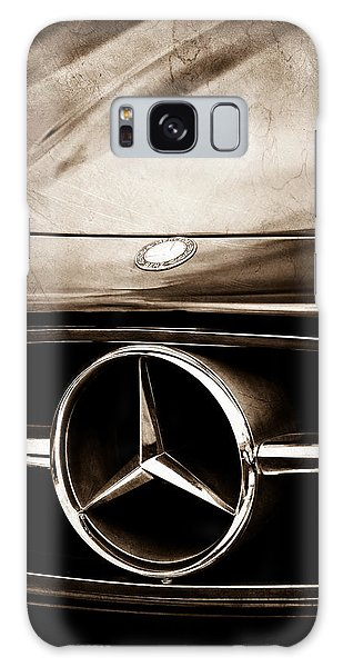 Mercedes-benz Grille Emblem Galaxy Case