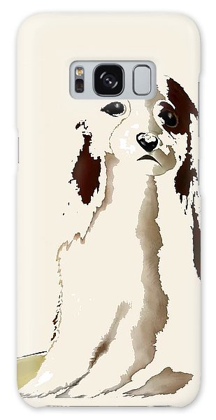 Mercedes  - Our Cavalier King Charles Spaniel  No. 9 Galaxy Case