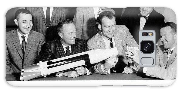 Astronaut Galaxy Case - Mercury Seven Astronauts by Nasa