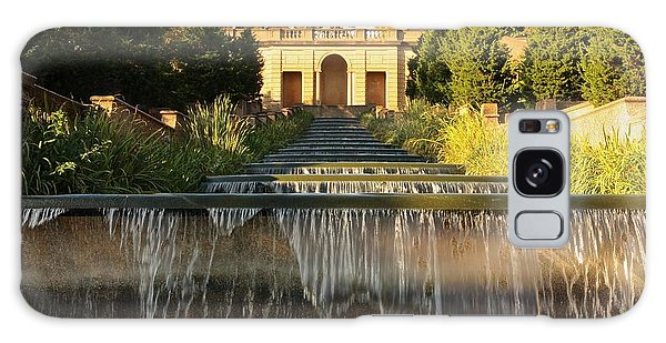 Meridian Hill Park Waterfall Galaxy Case