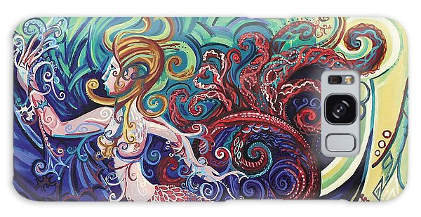 Mermaid Gargoyle Galaxy Case