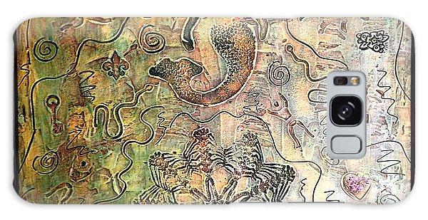 Alfredo Garcia Galaxy Case - Mermaid Goddess By Alfredo Garcia by Alfredo Garcia