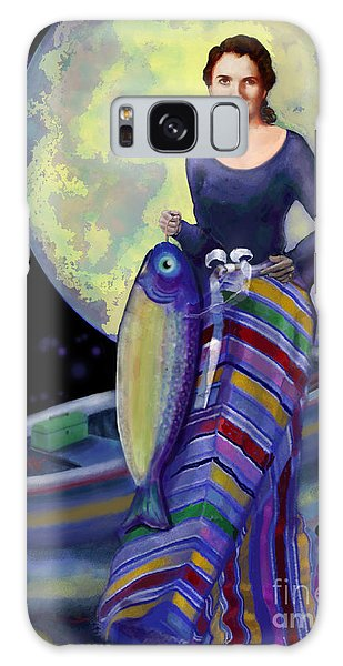 Mermaid Mother Galaxy Case