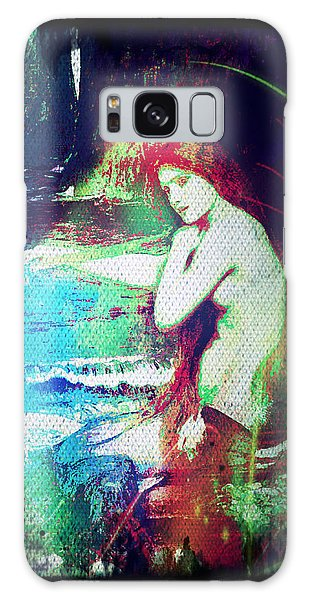 Mermaid Of The Tides Galaxy Case by Absinthe Art By Michelle LeAnn Scott