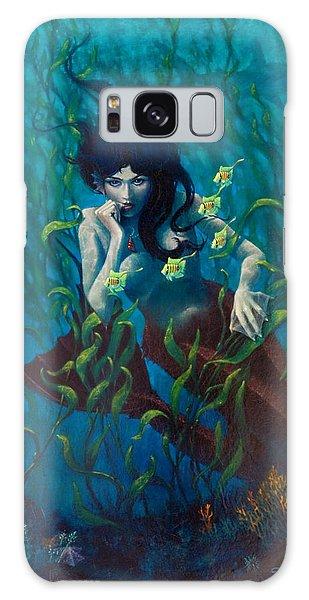 Mermaid Galaxy Case by Rob Corsetti