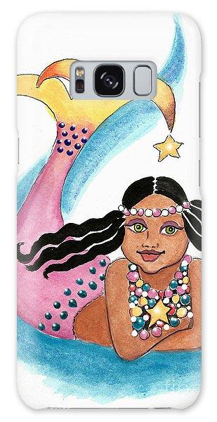Mermaid Star Child Galaxy Case