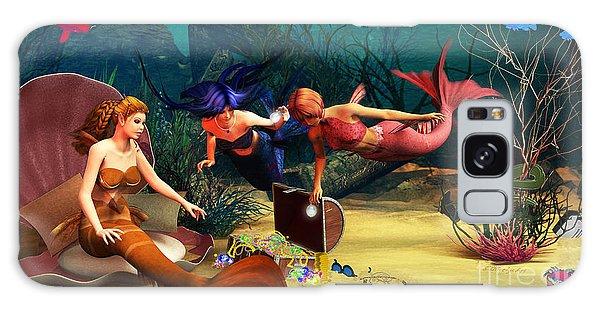 Mermaid Treasures Galaxy Case