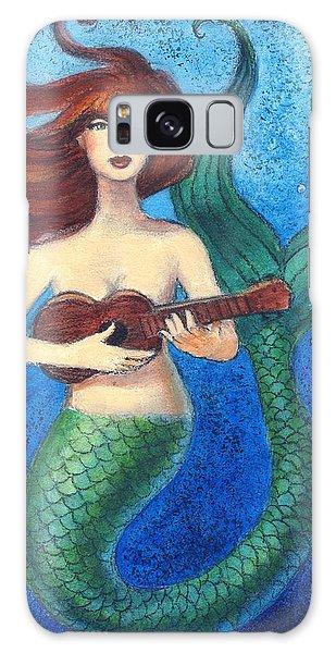 Mermaid Ukulele Angels Galaxy Case