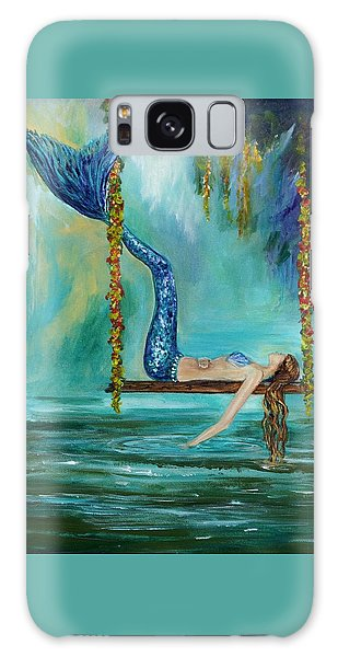 Mermaids Lazy Lagoon Galaxy Case