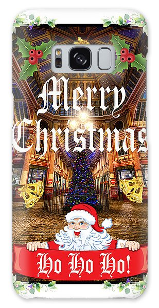 Merry Christmas 002 Galaxy Case by Jack Torcello