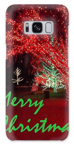 Merry Christmas Galaxy Case by Darren Robinson