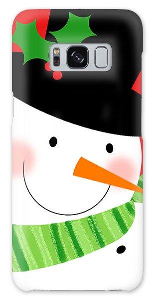 Merry Snowman Galaxy Case
