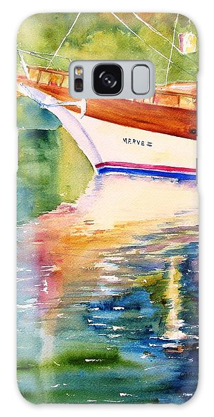 Merve II Gulet Yacht Reflections Galaxy Case