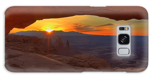 Mesa Arch Sunrise Galaxy Case by Alan Vance Ley