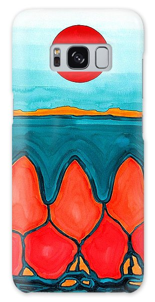 Mesa Canyon Rio Original Painting Galaxy Case