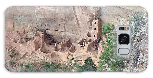 Mesa Verde Colorado Cliff Dwellings 1 Galaxy Case by Richard W Linford