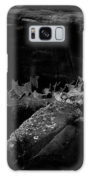 Galaxy Case featuring the photograph Mesa Verde Edged Into The Light by David Bailey