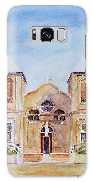 Mesilla Church Galaxy Case