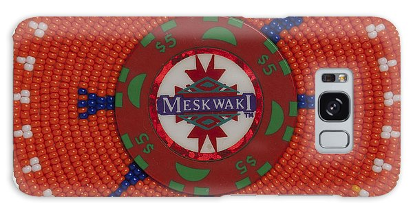 Meskwaki Orange Galaxy Case