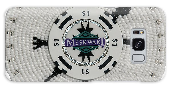 Meskwaki White Galaxy Case