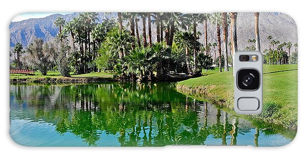 Mesquite Country Club Lake Galaxy Case