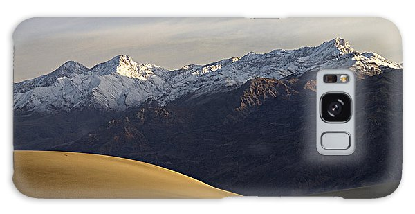 Mesquite Dunes And Grapevine Range Galaxy Case by Joe Schofield