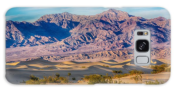 Mesquite Dunes And Mountains Galaxy Case