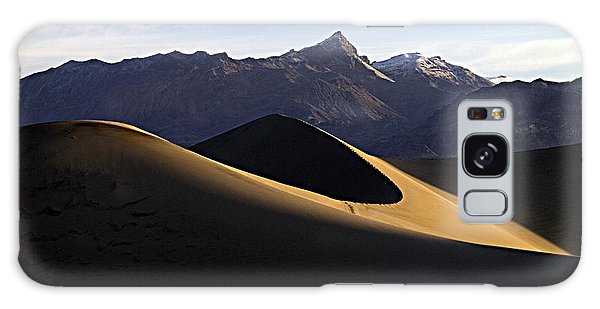 Mesquite Dunes At Dawn Galaxy Case by Joe Schofield
