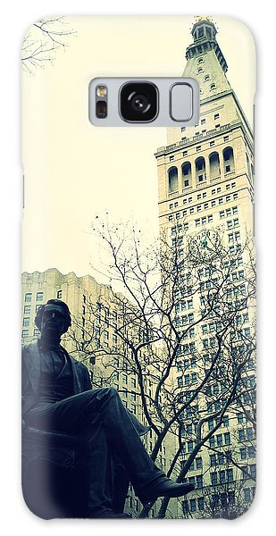Met Life And Madison Square Park Galaxy Case