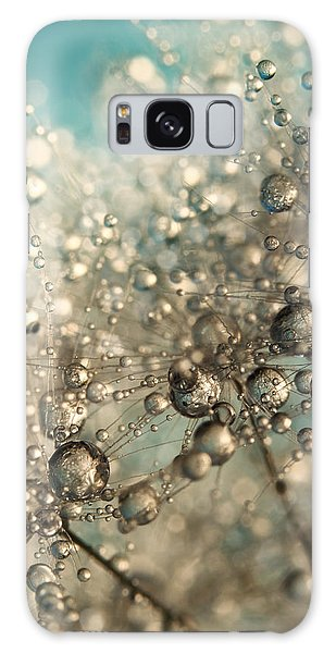 Metal Blue Dandy Sparkle Galaxy Case