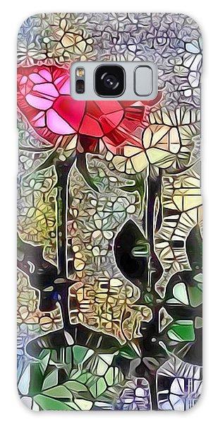 Metalic Rose Galaxy Case