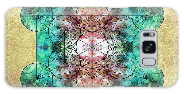 Buddhism Galaxy Case - Metatron's Cube by Filippo B