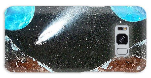 Meteor Moons Galaxy Case