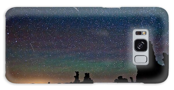 Meteors Over Mono Lake Galaxy Case
