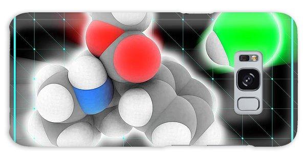 Nervous System Galaxy Case - Methylphenidate Hydrochloride Drug Molecu by Laguna Design/science Photo Library