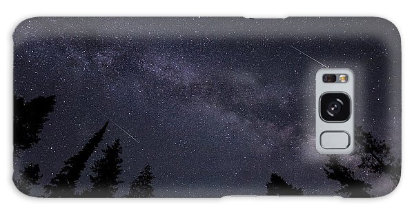 Meteors And The Milky Way Galaxy Case