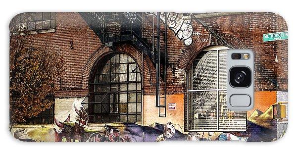 Metropolitan Avenue Graffiti Galaxy Case